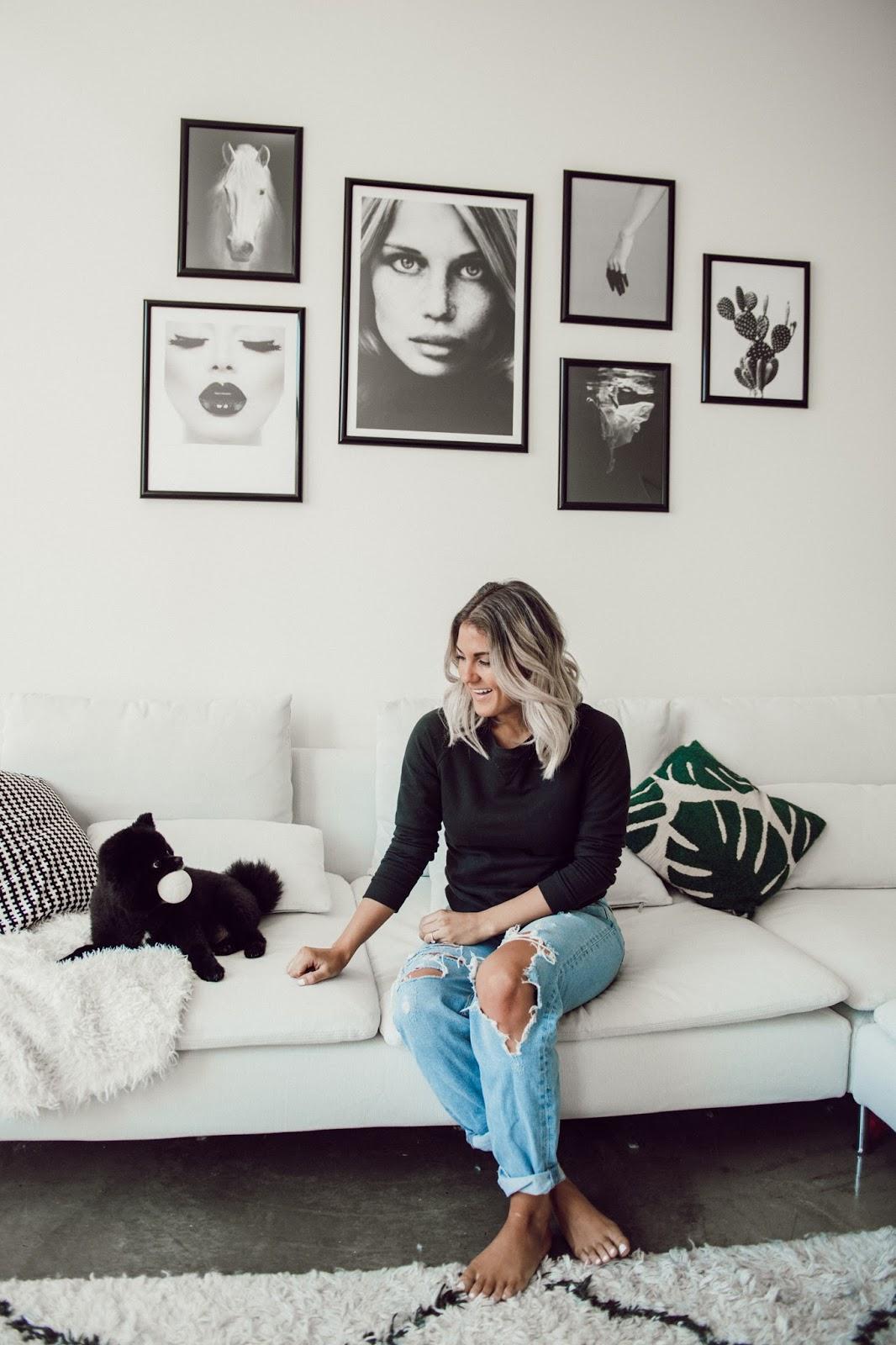 Modern Scandinavian Home Inspo - @taylorwinkelmeyer