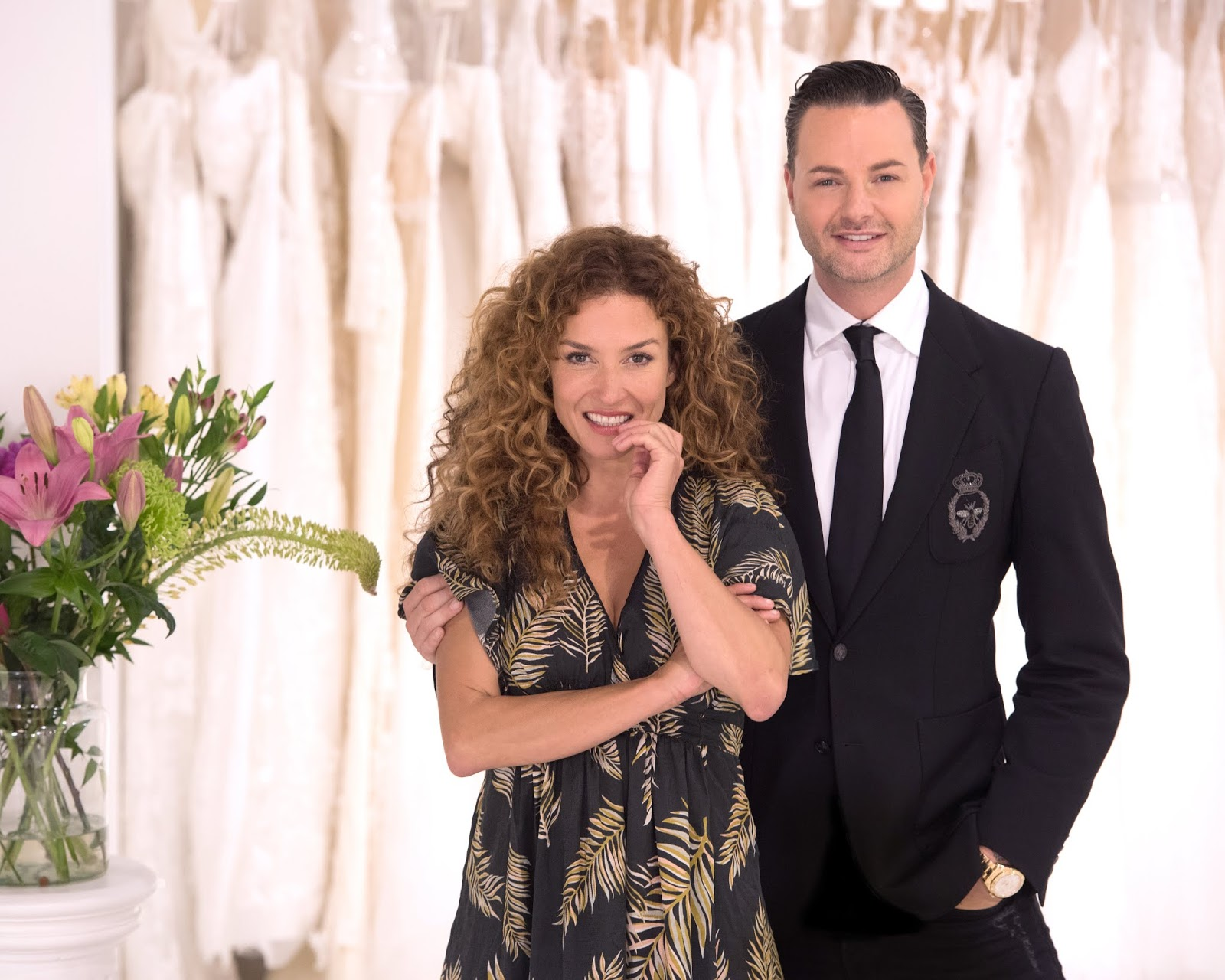 Dutch Radio Katja Schuurman Te Zien In Say Yes To The Dress Benelux