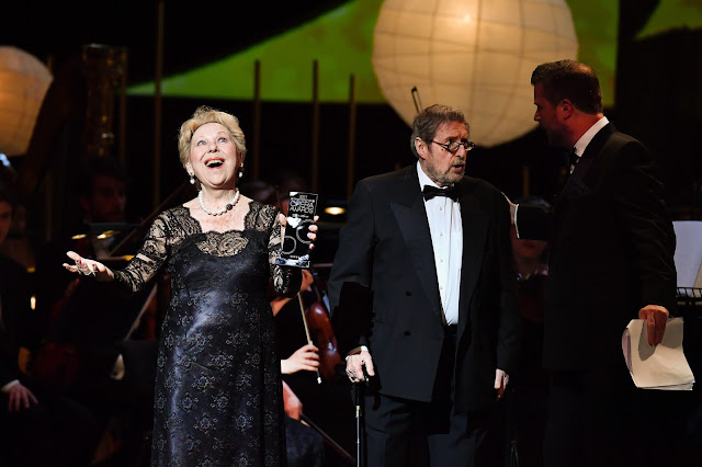 Renata Scotto receiving her Lifetime Achievement Award at the International Opera Awards