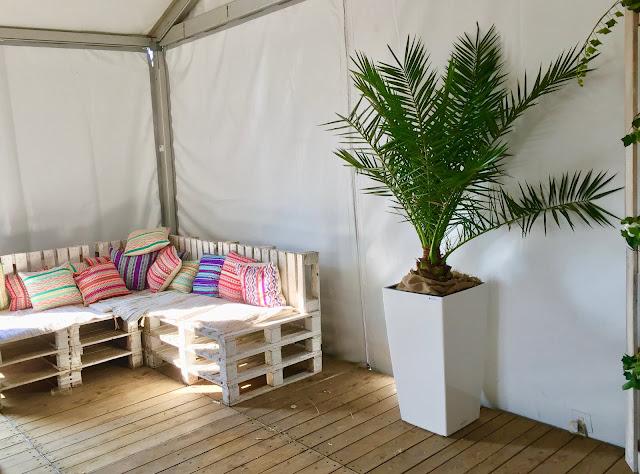 Planten om te huren voor evenement event feest beurs of party. Planten voor inkleding vip-ruimte receptie