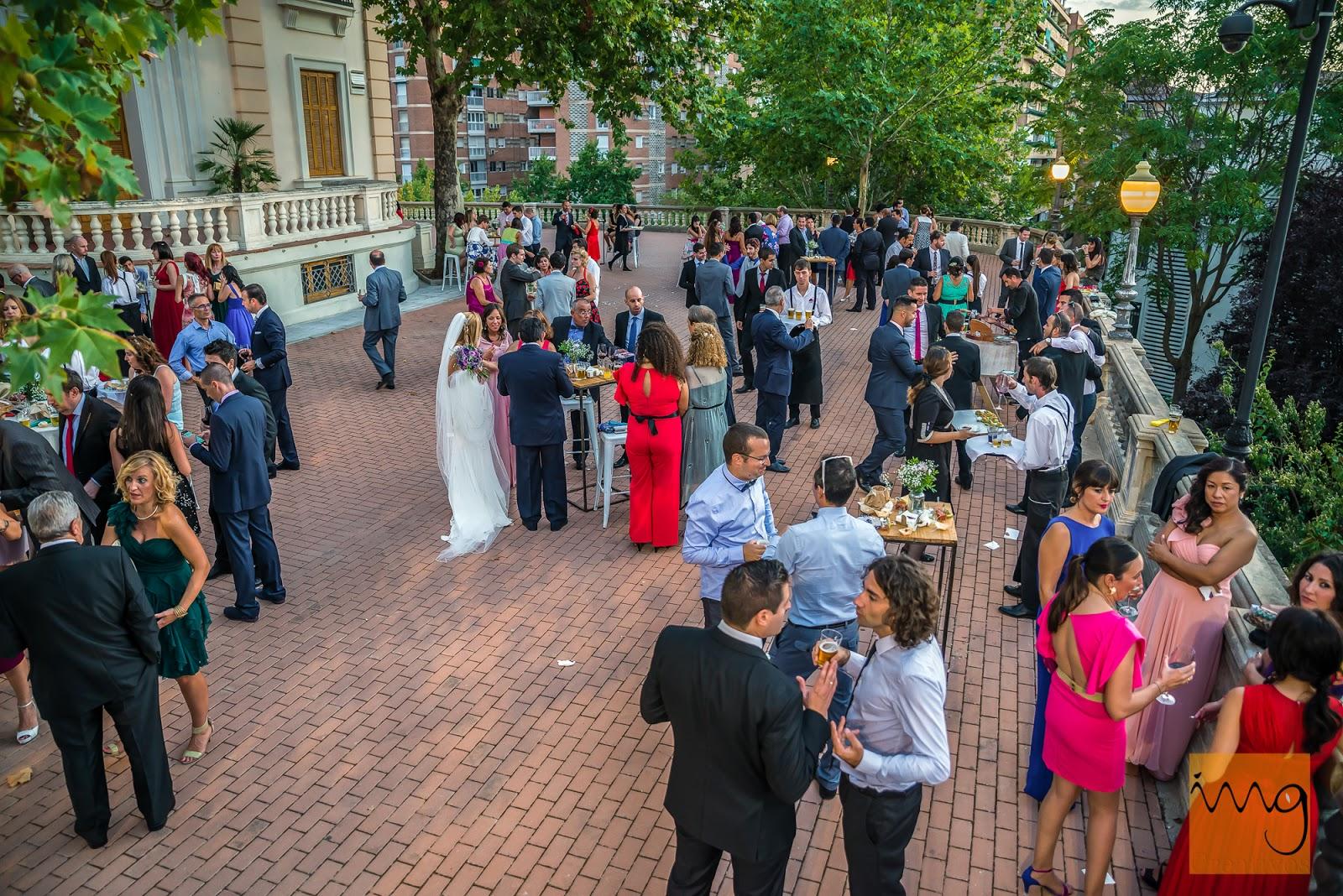 Fotografía del lugar de la celebración de la boda
