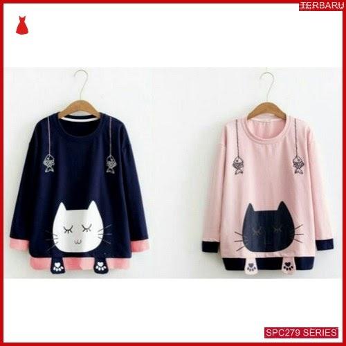 SPC279S24 Sweater Catty Babyterry Outerwear Wanita | BMGShop