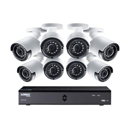 Lorex, LX1080-88BW 1080p Security Surveillance Camera System w/Cameras