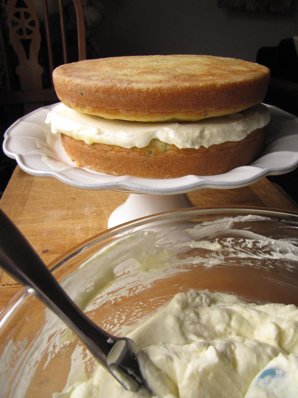 Easter Cake Lemon Curd