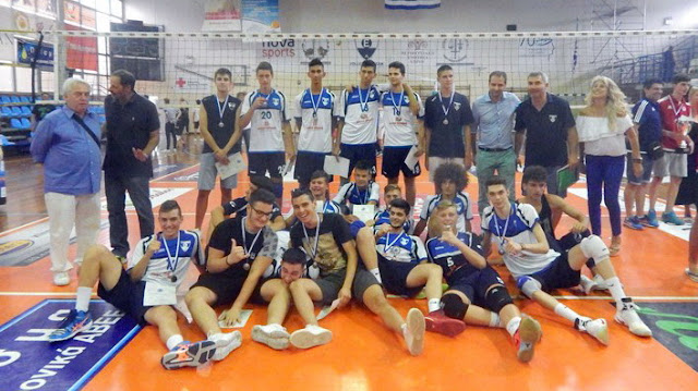 Βόλεϊ: Πρωταθλητής Ελλάδας στους Παίδες ο Ολυμπιακός στο final-4 της Αλεξανδρούπολης