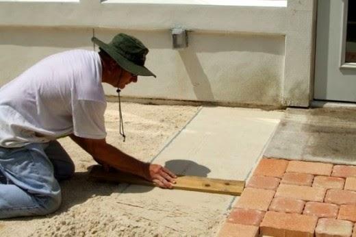 Julie Ann Brady : Blog On: How to Create a Patio with ...