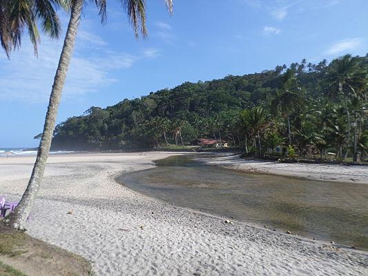 praia jeribucacu itacare