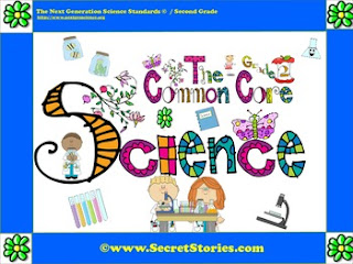 FREE Second Grade (2nd Grade) Common Core Science Posters