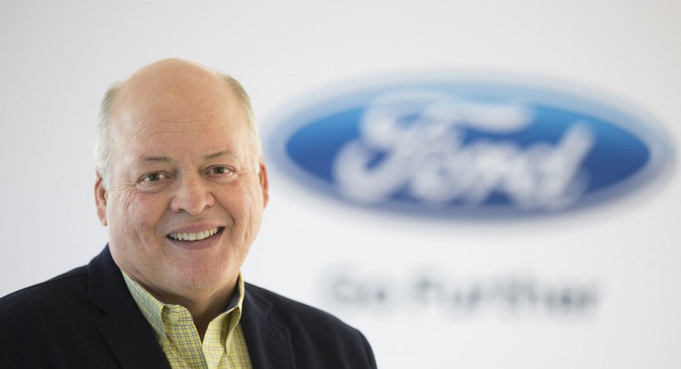 Ford Replaces CEO Mark Fields In Management Shake-Up