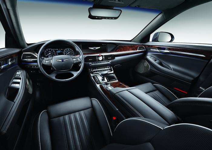 G90 by Genesis Interior look