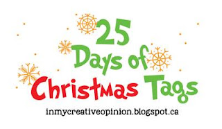 25 days of Christmas Tags | 2018