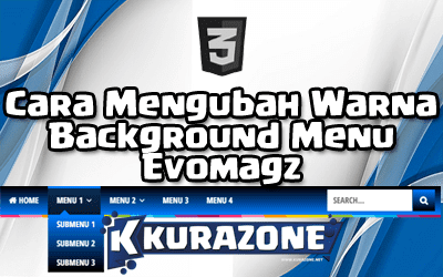 Cara Mengubah Warna Background Menu Evomagz (Solid or Gradient)