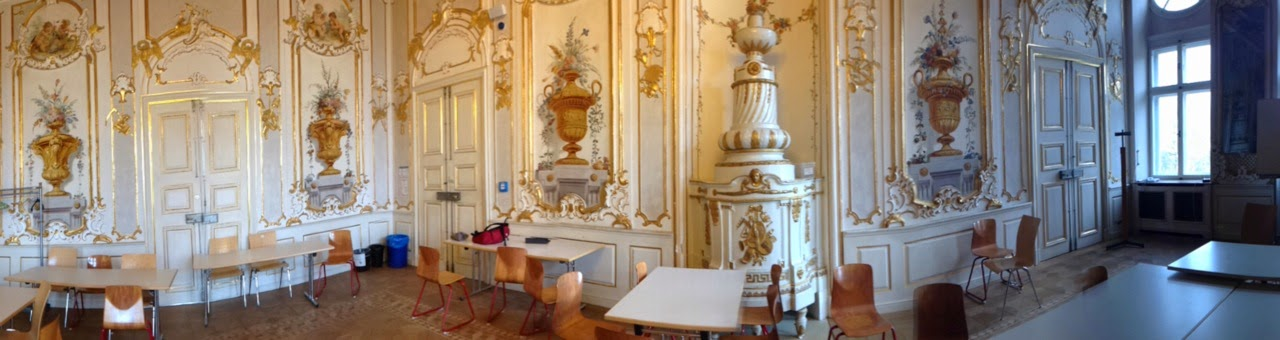 Bavarian International School's Golden Room