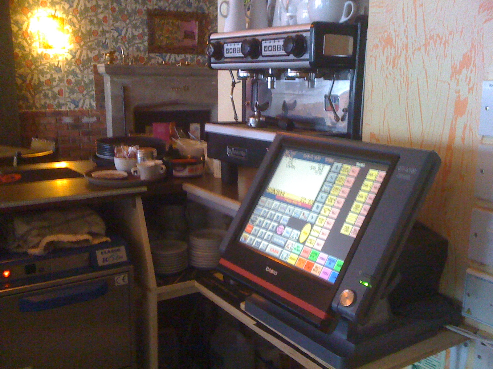 Cash Register Services A recent installation using Casio QT 6100 with kitchen order printing