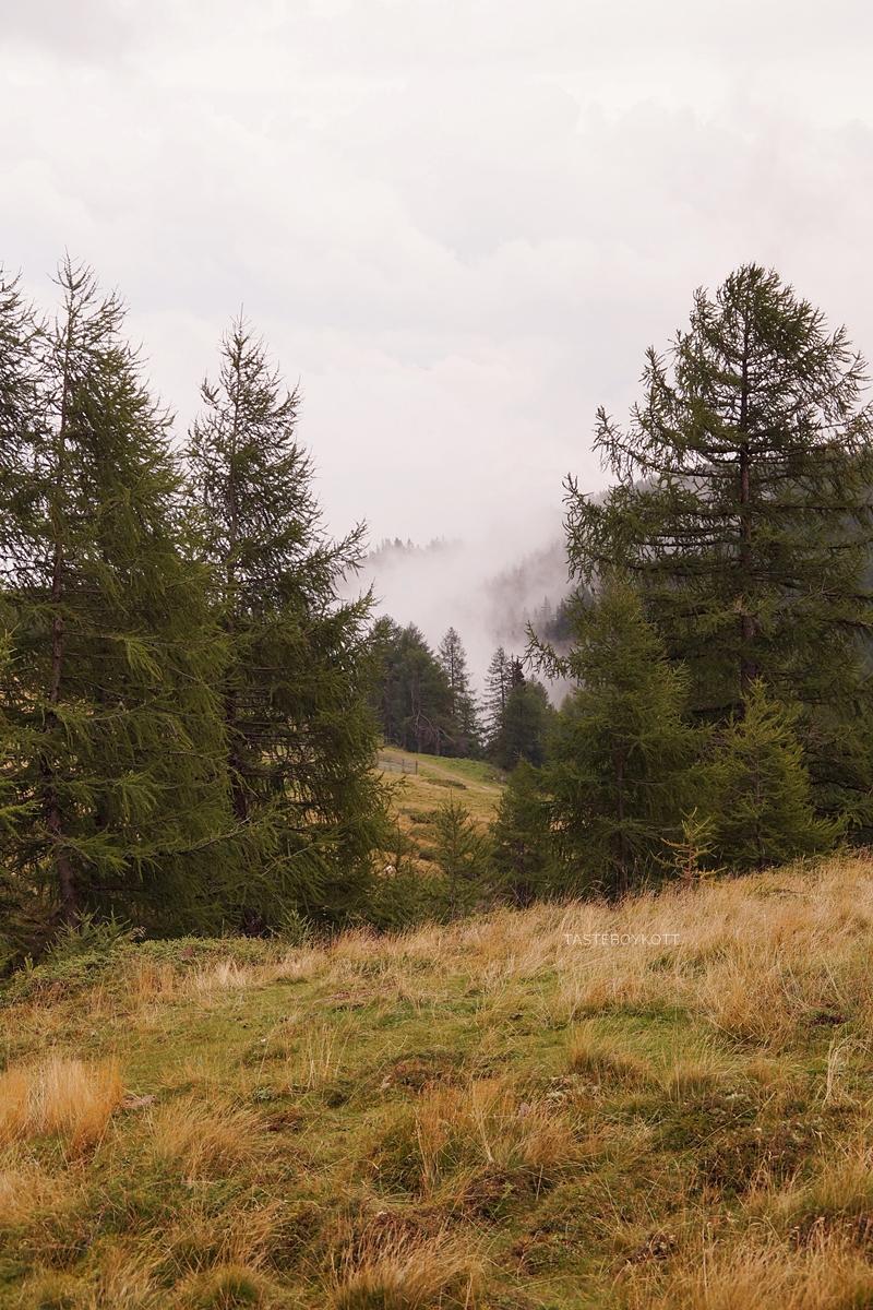 Urlaub im Lungau, Österreich, im Herbst: Wandern auf dem Speiereck // Austria Travel: Hiking in Lungau in Fall