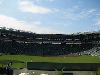 Center to Home, Koshien Stadium