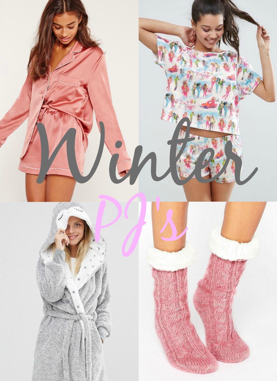 The Winter Pyjama/Nightwear Wishlist