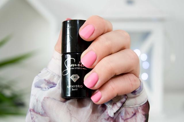 Semilac 049 UV Hybrid Semilac True Pink