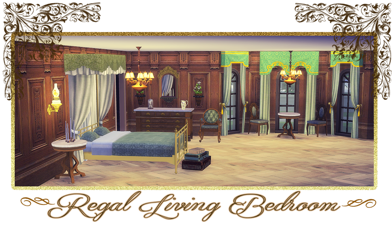 my sims  blog  - ts regal living bedroom set conversion by daern