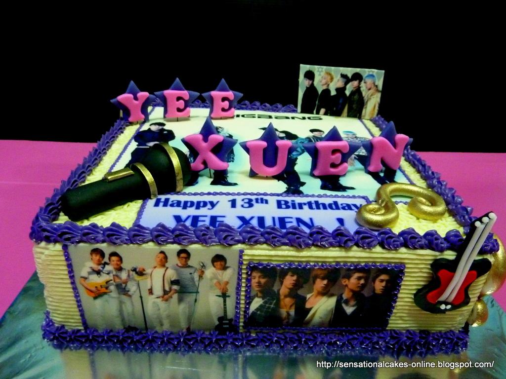 The Sensational Cakes Big Bang Japan Pop 2d Cake