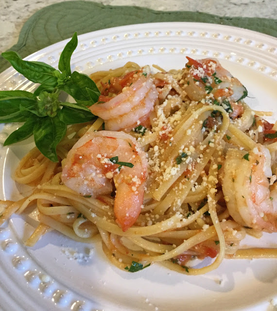 Stove-top Shrimp and Pasta