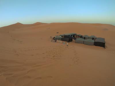 accampamento berbero marocco