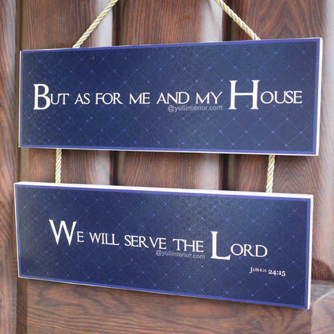 Buy Christian Scripture Hanging Wood Wall Decor in Port Harcourt Nigeria