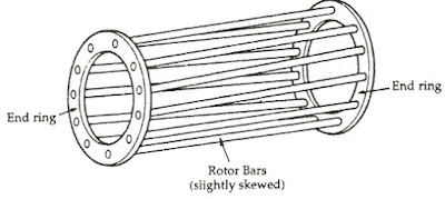 Why Skewed Rotor Conductors in an Induction Motor