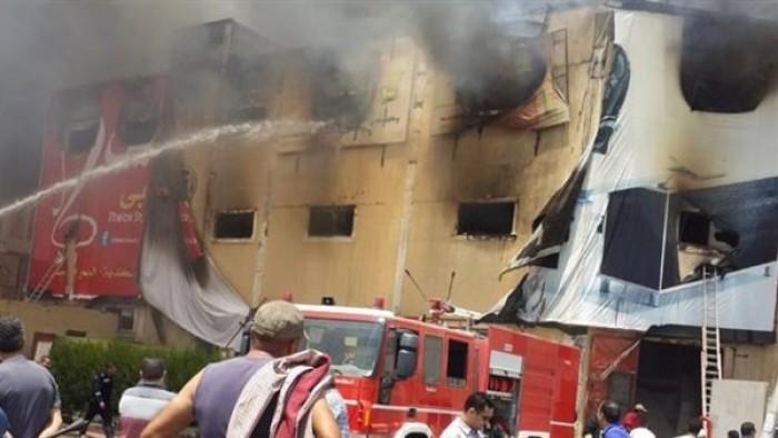عـــاجل | حريق هائل في 5 مصانع بشبرا الخيمة والحماية المدنية تهرع لمكان الحرائق