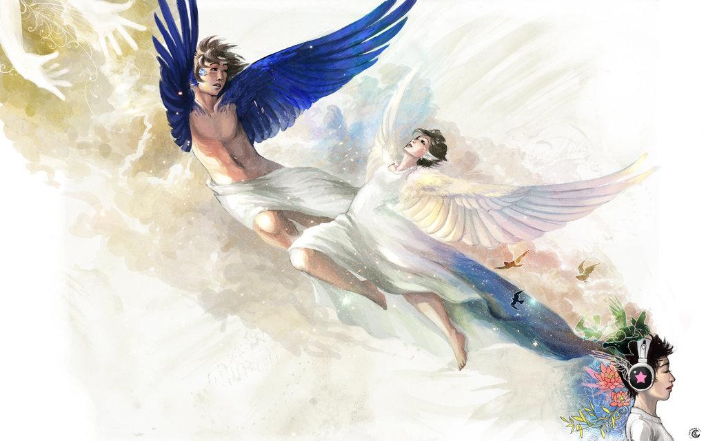 Sfondi pc angeli