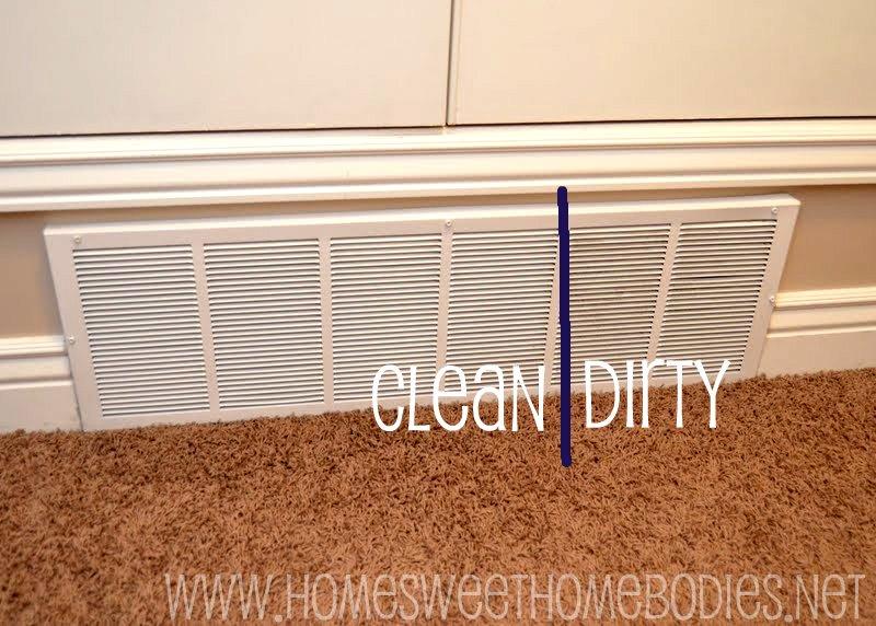 how to clean mac air vents
