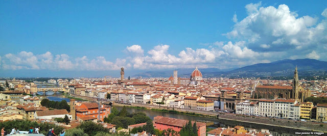 Vista panoramica Piazzale Michelangelo Firenze