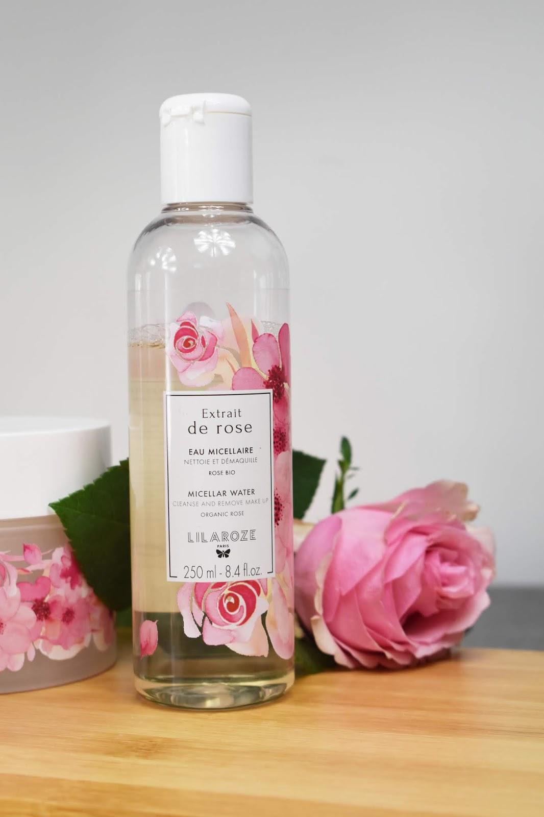 eau micellaire extrait de rose lilaroze my musecatcher