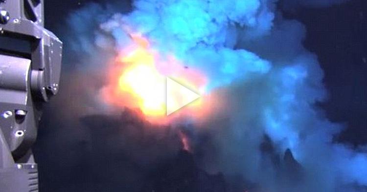 Multiple undersea Volcano eruptions, caught on video