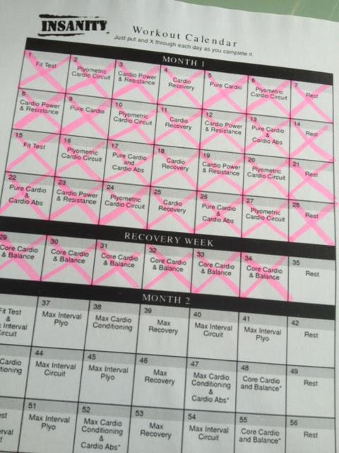 Pretty Random Things : INSANITY: Day 29 to 34 (Week 5)