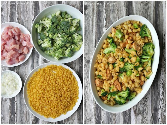 Leichter Nudel-Brokkoli-Auflauf mit Hähnchen | Essen | Kochen | Rezept