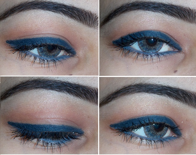 Lakme Eyeconic kajal in Grey and Blue Review, price and swatches