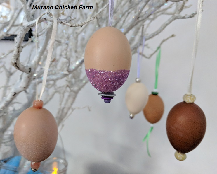 How To Decorate A Blown Egg Murano Chicken Farm