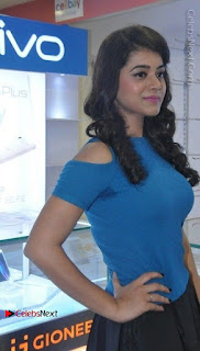 Telugu Actress Yamini Bhaskar Latest Pos in Blue Top and Black Skirt  0002.jpg