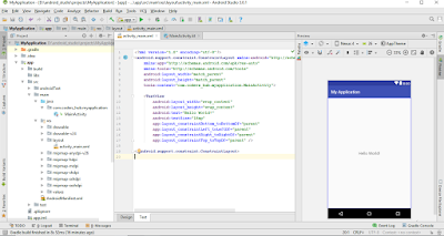 Android Studio App preview