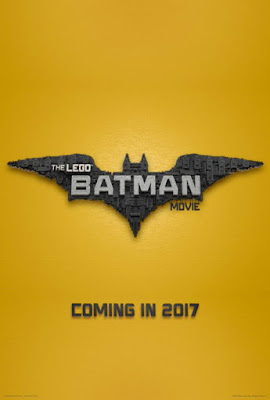 San Diego Comic-Con 2016 Exclusive The LEGO Batman Movie Teaser Theatrical One Sheet Movie Poster
