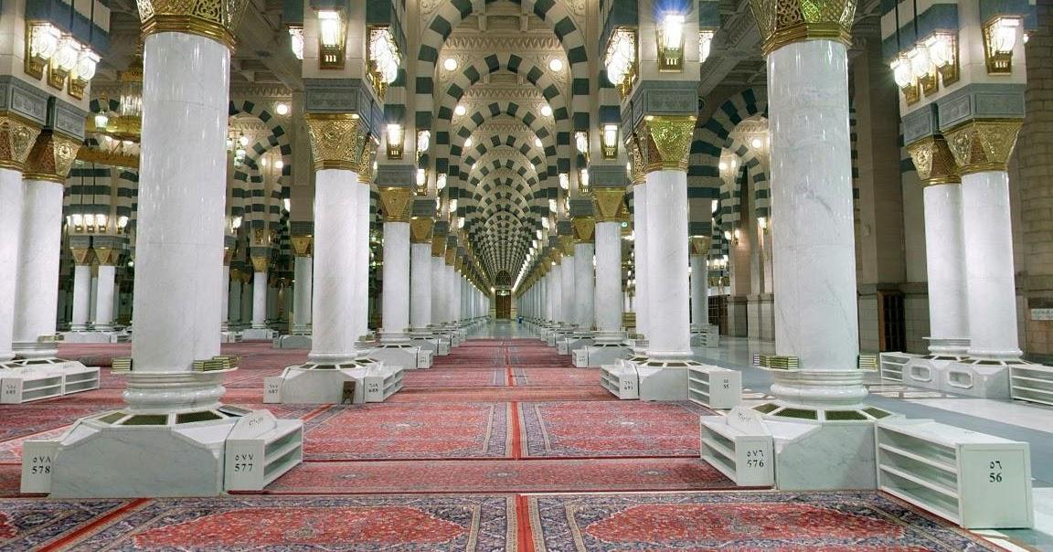 Kumpulan Foto dan Gambar Masjid Nabawi di Madinah