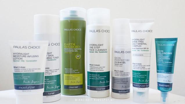 Review Paula's Choice Hydralight Skincare Range