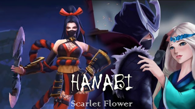 Hero Hanabi Mobile Legends