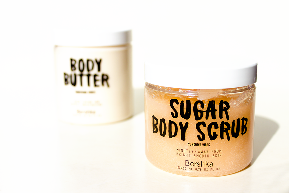 Bershka Sunshine Vibes body scrub review