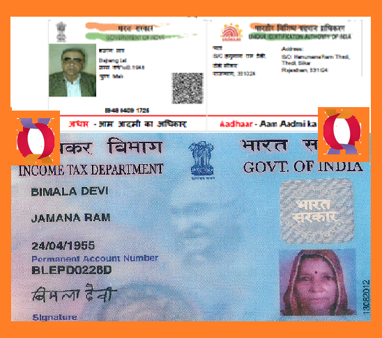 Link your Aadhar card With Incometax PAN Card