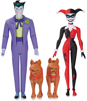 "Batman The Animated Series Wave 7 6"" Action Figures - The Joker & Harley Quinn"