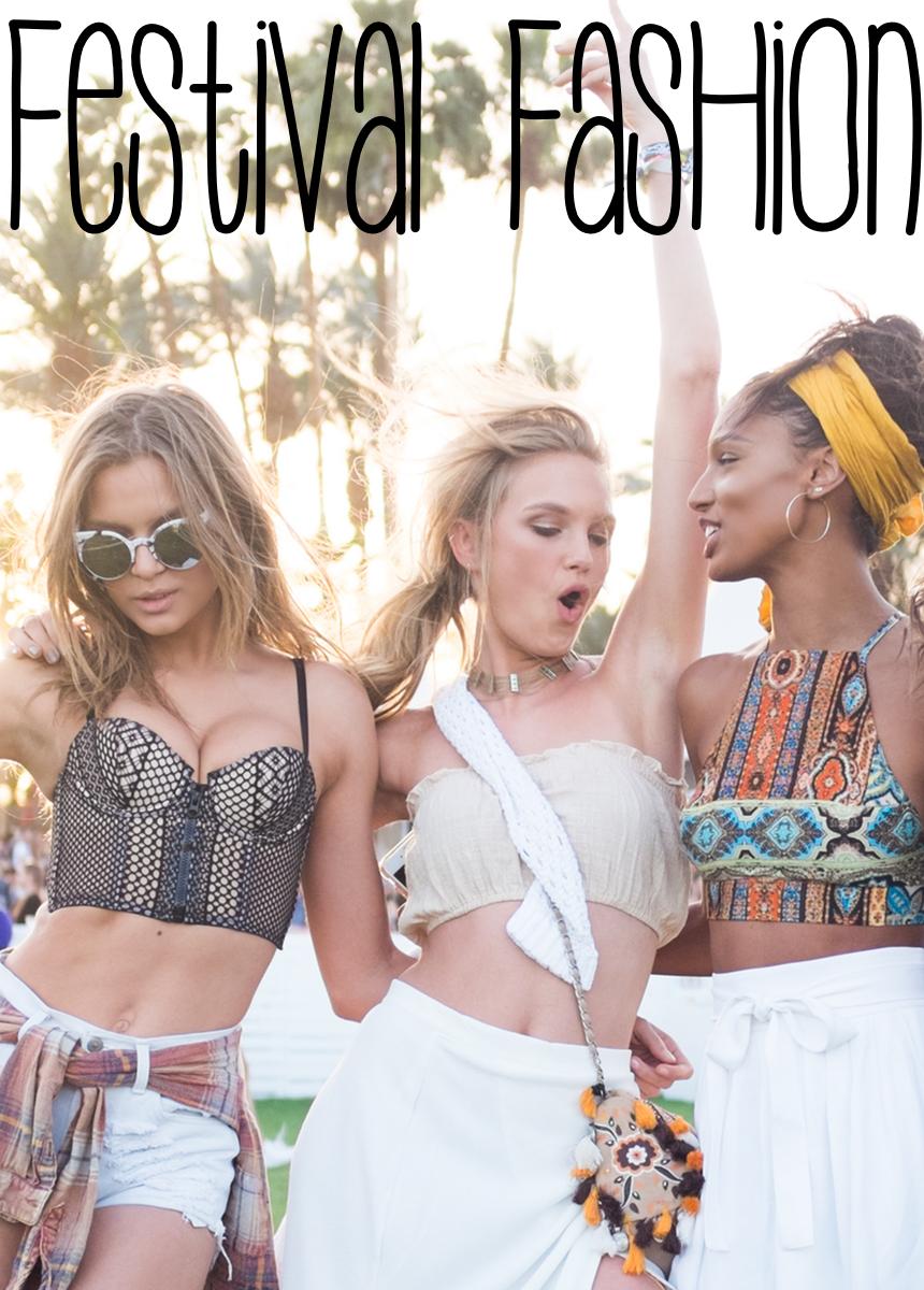 Josephine Skriver, Romee Strijd, and Jasmine Tookes attend 2016 Coachella