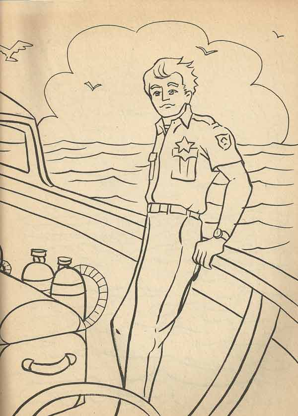 Thiskevin coloring book contest at kevin matt geek out for Jaws coloring pages
