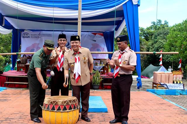 Gandeng Pramuka, BKKBN Sukseskan Program Kependudukan